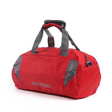 Unisex Bags All Seasons Polyester Travel Bag for Casual Sports Outdoor Red