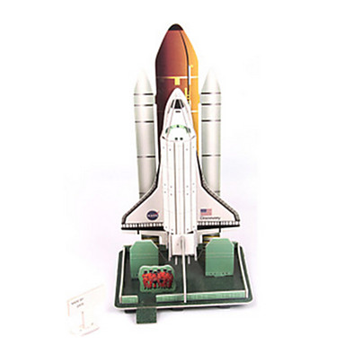 3D Puzzles Model Building Kit Spacecraft DIY High Quality Paper Classic Unisex Gift