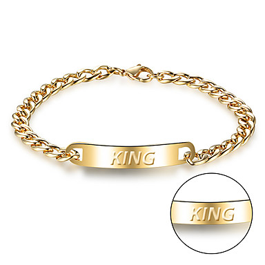 Korean fashion jewelry titanium cast stainless steel bracelet men's personality