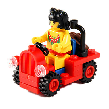 Carros de Brinquedo Blocos de Construir Outros Fun & Whimsical Para Meninos Unisexo Brinquedos Dom