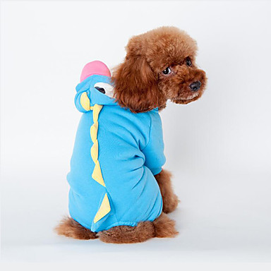 Dog Costume Dog Clothes Animal Green Blue Pink Cotton Down Costume For Pets Men's Women's Cosplay