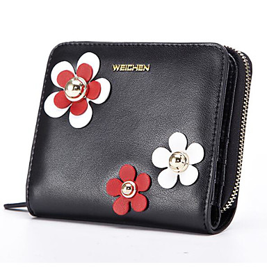 Women Bags All Seasons PU Cowhide Coin Purse for Casual Outdoor Blue Black