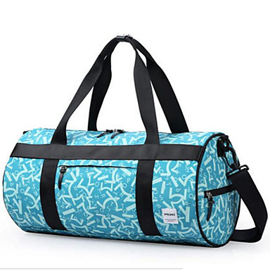 Women Tote Polyester Cotton All Seasons Casual Outdoor Cylindrical Zipper Green Black
