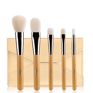 5 Brush Sets Synthetisch haar Beperkt bacterieën / Hypoallergeen MSQ