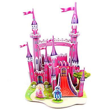 voordelige 3D-puzzels-3D-puzzels Legpuzzel Modelbouwsets Kasteel Beroemd gebouw DHZ Hard Kaart Paper Klassiek Anime Cartoon Kinderen Unisex Speeltjes Geschenk
