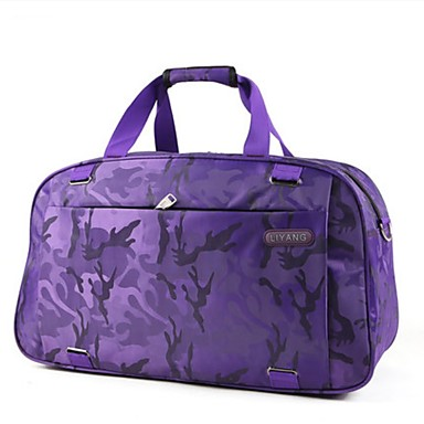 Unisex Bags All Seasons Oxford Cloth Travel Bag for Casual Sports Outdoor Blue Black Gray Purple Clover