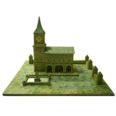 voordelige 3D-puzzels-3D-puzzels Bouwplaat Modelbouwsets Beroemd gebouw Kerk (83 DHZ Simulatie Klassiek Unisex Speeltjes Geschenk