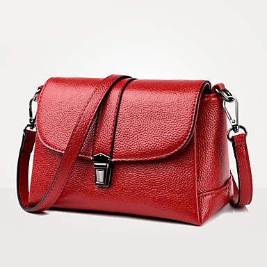 Women Bags PU Crossbody Bag for Wedding Event/Party Casual Formal Office & Career All Seasons Blue Black Red Purple Brown