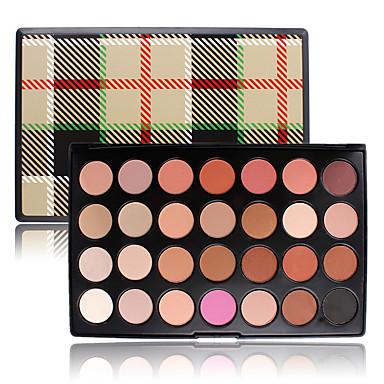 Warm Professional Eyeshadow Tone Earth 28 Color Smoky Shadow Palette Makeup Cosmetic Nude Eye Matte Powder Natrual Set Kit