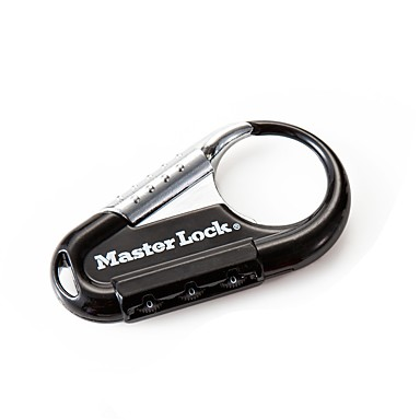 MASTER LOCK 1547/603 Password Lock Box Lock Key Chain 3 Digit Password Dail Lock Password Lock
