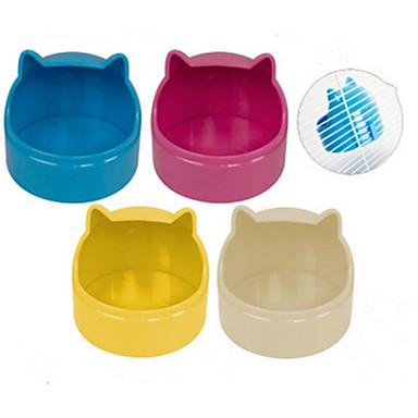 Nagetiere Hasen Chinchillas Hamster Silikon Schalen & Wasser Flaschen Weiß Gelb Blau Rosa