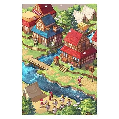 Jigsaw Puzzle House Wooden Wood Unisex Gift