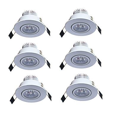 JIAWEN 3W 3 LEDs Lâmpada de Embutir Branco Quente Branco Frio AC85-265