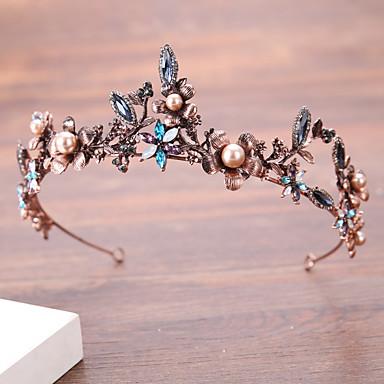 Imitação de Pérola Liga Headbands 1 Casamento Aniversário Parabéns Capacete