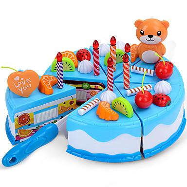 Comida de Brinquedo Brinquedos Cortadores de Bolos e Bolachas Bolo Plásticos Crianças Dom 1pcs