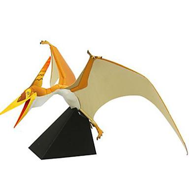 Quebra-Cabeças 3D Maquetes de Papel Quadrada Dinossauro Faça Você Mesmo Cartão de Papel Duro Para Meninos Unisexo Dom