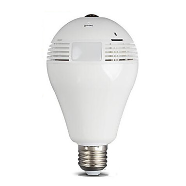 HT Smart Home Surveillance Camera 2 Million VR360 Degree Miniature Panorama Home Wireless Surveillance Camera Lighting Bulb