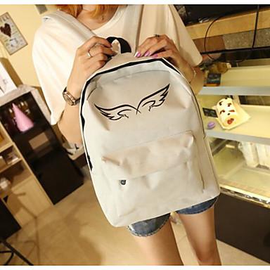 Children's Bags Nylon Backpack for Casual All Seasons Black Gray
