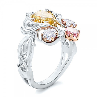 Dame Klassisk Mote Legering Geometrisk Form Smykker Bryllup Fest Engasjement Gave Aftenselskap