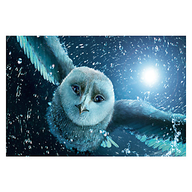 Quebra-Cabeça Quadrada Inovador Pato Eagle Coruja De madeira Madeira Anime 6 anos e acima