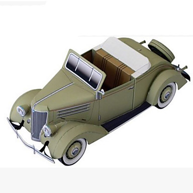 3D-puslespill Papirmodell Papirkunst simulering GDS Hardt Kortpapir Klassisk Barne Gutt Unisex Gave