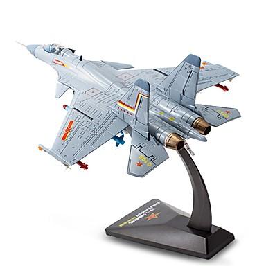 voordelige 3D-puzzels-KDW Speelgoedauto's Modelauto Vliegtuig Shark Simulatie Metaallegering Alloy Metal Kinderen Jongens Speeltjes Geschenk