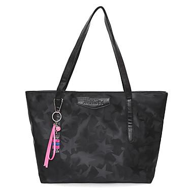 Women Bags Oxford Cloth Shoulder Bag for Casual All Seasons Black Purple Fuchsia Army Green