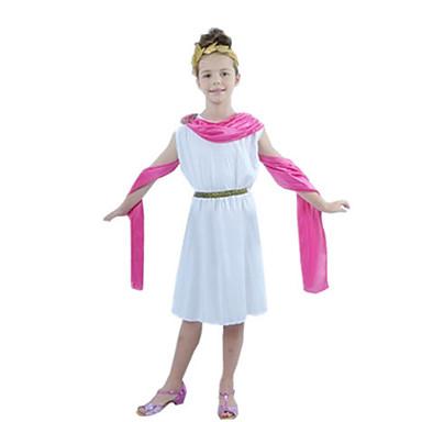 Romerske Kostymer Egyptiske Kostymer Cleopatra Cosplay Cosplay Kostumer Maskerade Party-kostyme Jente Halloween Karneval Barnas Dag