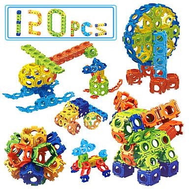 Blocos de Construir Brinquedo Educativo 120 pcs Eagle Faça Você Mesmo Unisexo Para Meninos Para Meninas Brinquedos Dom