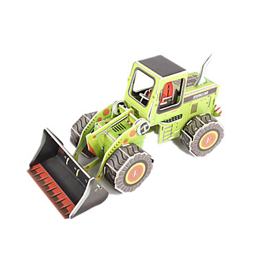 3D Puzzles Model Building Kit Forklift DIY High Quality Paper Classic Unisex Gift