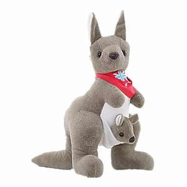 Plüschtiere Puppen Spielzeuge Tier Känguru Schwamm Unisex Stücke