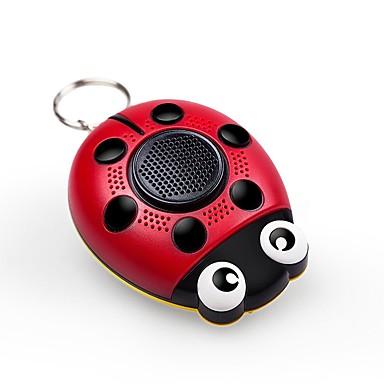 Personal Alarm ABS Woman Self-Defense LED Lights SOS LED Lights Flashing Alarm