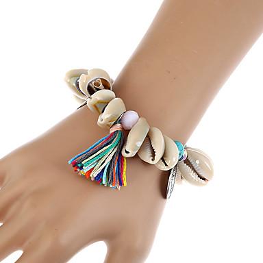 Naisten Ranneketjut Amuletti-rannekorut Wrap Rannekorut Muoti Bohemia Style Käsintehty Hartsi Metalliseos Geometric Shape Korut