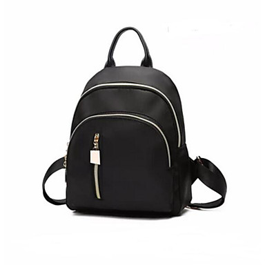 Women's Bags PU Backpack for Casual Outdoor All Seasons Black Red