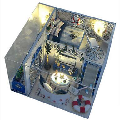 Model Building Kit Toys DIY House Plastics Pieces Unisex Birthday Gift