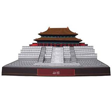 voordelige 3D-puzzels-3D-puzzels Bouwplaat Beroemd gebouw Chinese architectuur Verboden Stad DHZ Hard Kaart Paper Chinese stijl Kinderen Unisex Speeltjes Geschenk