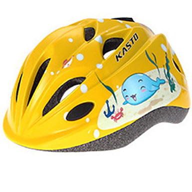 Skate Helmet Kid's Helmet CE Certification Scratch Resistant Adjustable Anti-Shock Breathable Sports for Cycling Ice Skating Skating