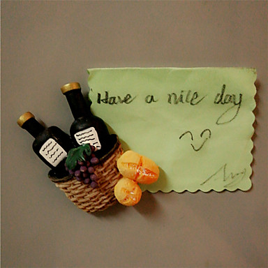 Creative Wine Grapes Fridge Magnetic Stickers Home Decoration Wall Decal