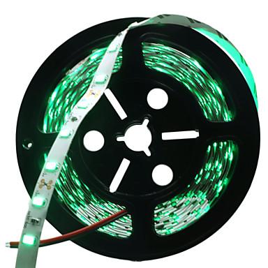 HKV 5 m LED-es szalagfények 300 LED 5730 SMD Piros / Kék / Zöld Cuttable / Öntapadós 12 V