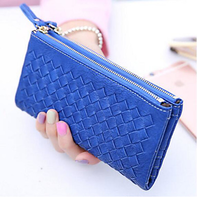 Women's Bags PU Coin Purse for Casual Outdoor All Seasons Blue Black Brown