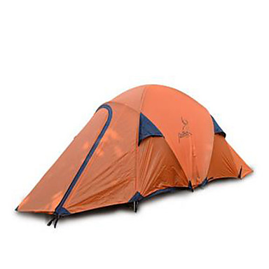 2 person Tent Camping Tent Outdoor Fold Tent Keep Warm Waterproof for Camping / Hiking Other Material