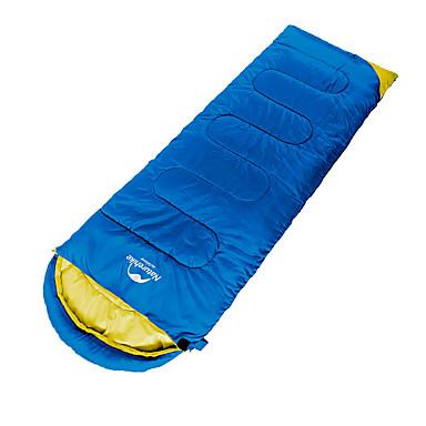 Naturehike Saco de dormir Ao ar livre 8°C Retangular Manter Quente / Descanso em Viagens para Acampar e Caminhar Primavera / Outono
