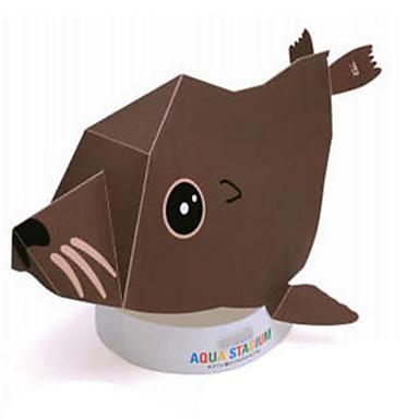 voordelige 3D-puzzels-Halloweenmaskers Papierkunst HardKaart Paper Klassiek DHZ Horrorthema Kinderen Unisex