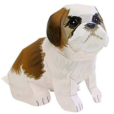 voordelige 3D-puzzels-3D-puzzels Bouwplaat Honden Leeuw Dieren DHZ Hard Kaart Paper Kinderen Unisex Speeltjes Geschenk