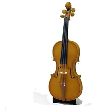 Quebra-Cabeças 3D Maquetes de Papel Artesanato de Papel Brinquedos de Montar Violino Instrumentos Musicais Simulação Artigos de