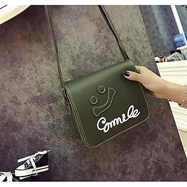 Women Shoulder Bag Polyester All Seasons Casual Outdoor Round Clasp Lock Black Gray Arm Green Wine