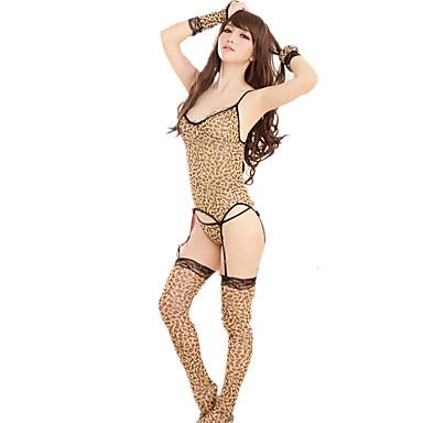 Women's Sexy Suits Nightwear Leopard