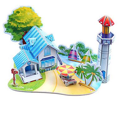 3D-puslespill Puslespill Strand og sand Strandleker Modellsett Leketøy Kjent bygning Arkitektur 3D GDS Hardt Kortpapir Uspesifisert Unisex