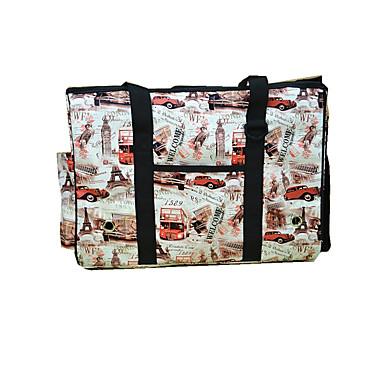 Cat Dog Carrier & Travel Backpack Shoulder Bag Pet Carrier Portable Breathable Geometric British Fuchsia Brown