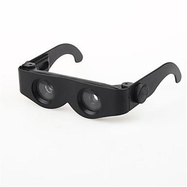 zoomies håndfri produkt forstørrelsesspegel teleskop 400% forstørrelse kikkert multifunksjonsbriller
